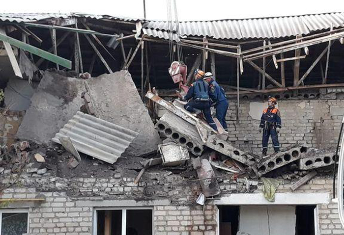 Взрыв газа в Каменском районе унес жизни двоих человек