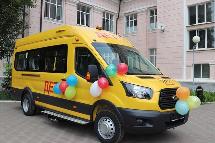 У шахтинской спортивной школы N5 появился свой транспорт