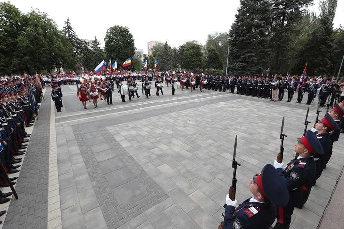 Шахтинские кадеты показали себя в Ростове