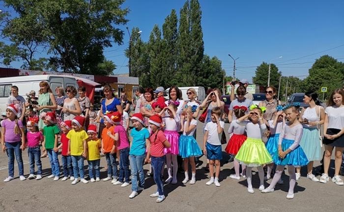 Детский праздник прошёл в посёлке Красина